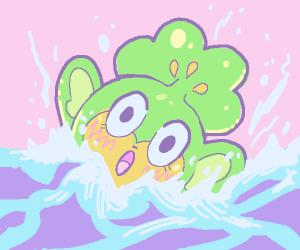 pansage drowning