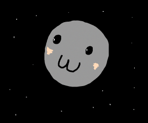 kawaii moon
