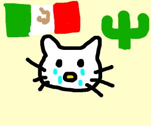 Sad mehican hello kitty