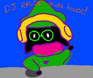 Ralsei is a DJ