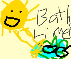 Sun Bathing Cool Broccoli