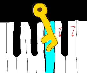 Music key ( magic key plays music keys)