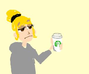 Dissatisfied Starbucks Customer