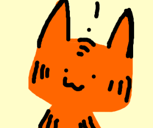 Excited Garfield