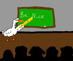 Teacher Duck