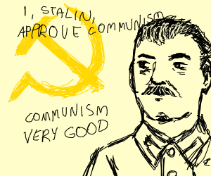 stalin approvs of communism