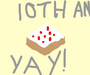 Minecraft 10 year anniversary !