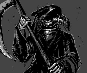 Death Is A Plague Doctor - Drawception