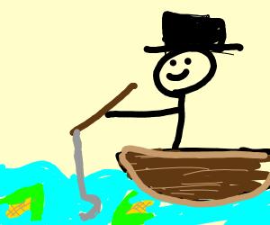 Fishing for corn