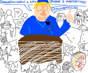 reed telling all drawception users some words