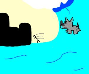 Rhinoceros in a Tsunami