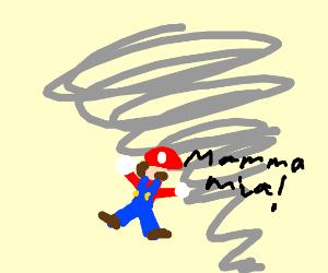 Plumber in a Tornado