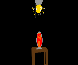 Old Lava Lamp