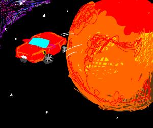 Ferrari on Mars