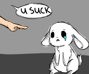 Someone Insults a rabbit