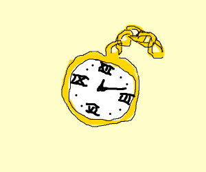 old school watch