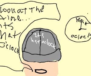 It's Hat o'Clock!