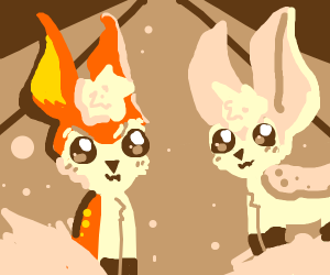 Autumn and Spring Deerling (pokemon)