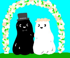 The blob wedding