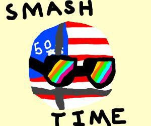 Smash ball is now america