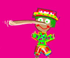 Gaudy Pinocchio