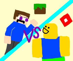 Minecraft versus Roblox