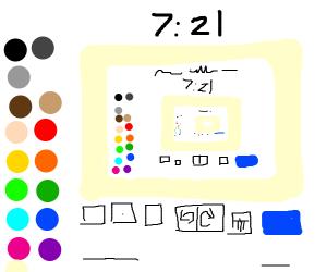 Drawception Drawing Layout. Draw: 7:31 Left