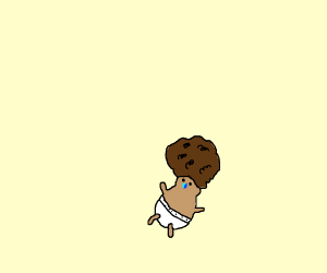 white baby with afro?