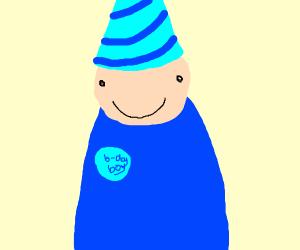 a birthday boy