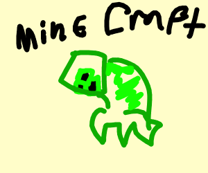 Minecraft Creeper Ducking
