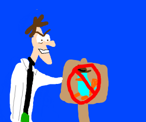 NO perry the platypus allowed