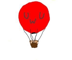 Hot air balloon uwu