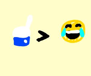Like button > Emotes