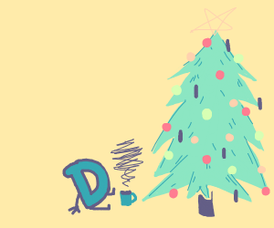 Drawception christmas
