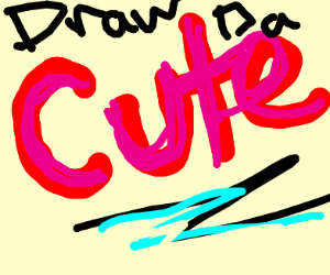 draw the cute