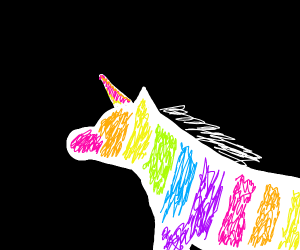 Abstract Unicorn