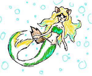 furry mermaid