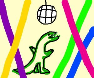 Dinosaurs Love Disco