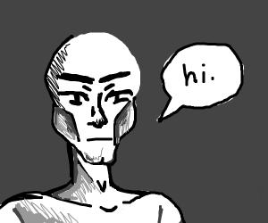 "Guy says ""hi"""