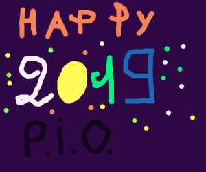Happy New Year P.I.O