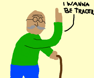 60 year old man wants to be tracer