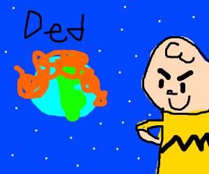Charlie Brown burn down theworld whatdidimiss