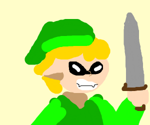 Link in the style of a Inkling