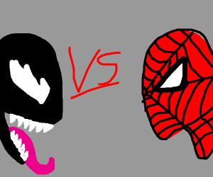 Venom v.s. Spider-man