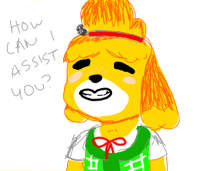 """Isabelle trying to be """"Helpful"""""""