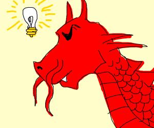 red dragon thinking