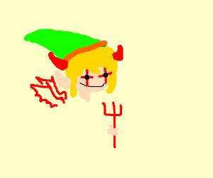 Link Becomes Satan