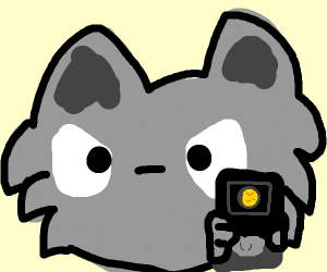 Furry about to shoot you