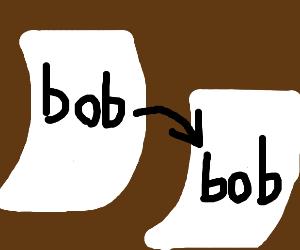 copy and paste bob