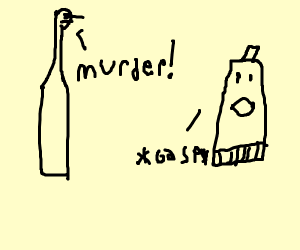 Tooth brush accuses tooth paste for murder